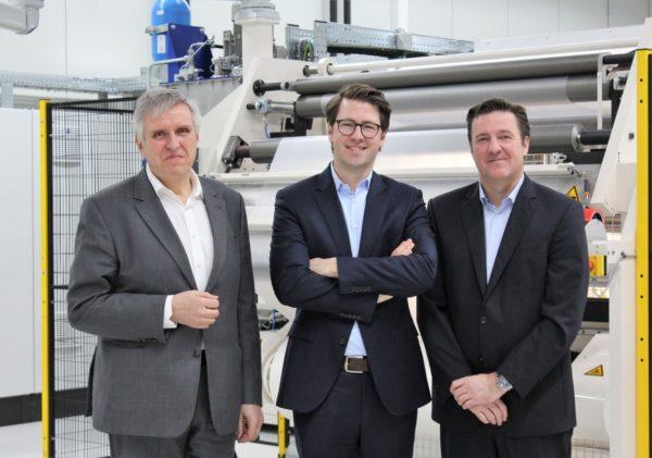 Management der Achilles-Gruppe (v.l.): Jürgen Straub, Fabian Roessing, Stefan Hörnicke. Foto: Achilles-Gruppe