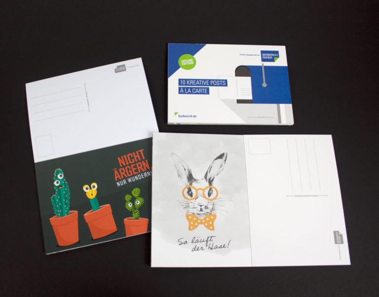 Das neue Grußkarten-Set. Foto: Carl Berberich GmbH