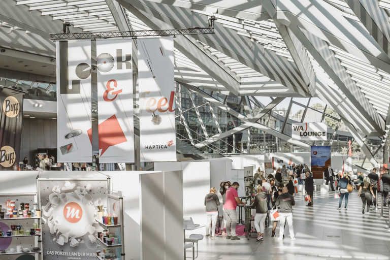 """Haptica live"" im World Conference Center Bonn. Foto: WA Media"