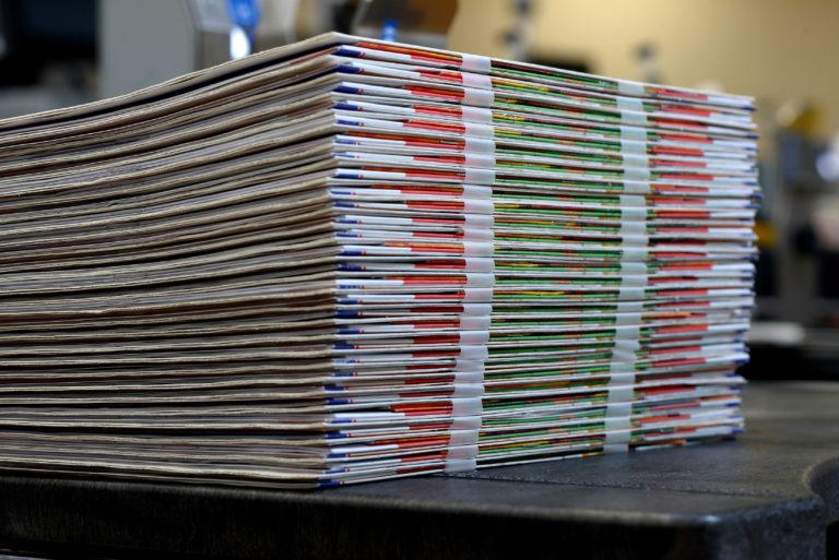 Zeitungen und Zeitschriften mit kostenpflichtigen Inhalten sind ein klarer Markttrend. Foto: Ferag