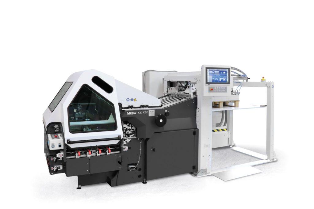 "Jubiläums-Edition der Kombi-Falzmaschine ""K32 KSE"". Foto: MBO Postpress Solutions"