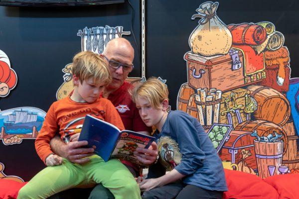 Generationsverbindend: Diverse Lesungen sind im Jahr 2021 im kleinen Rahmen geplant. Foto: Leipziger Messe/Tom Schulze
