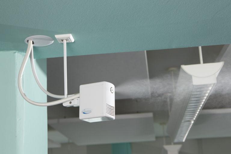 Besonders das Raumklima hat für den Gesundheitsschutz in Gebäuden große Bedeutung. Foto: Condair Systems