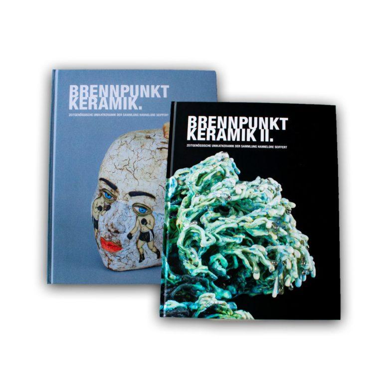 Kunst-Bildbände aus der Druckerei Repa Druck. Foto: Berberich