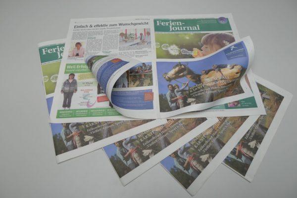 Immer noch stehen gedruckte Zeitungen mit lokalen und regionalen Informationen in der Gunst der Leser obenan. Foto: Presse-Druck Augsburg