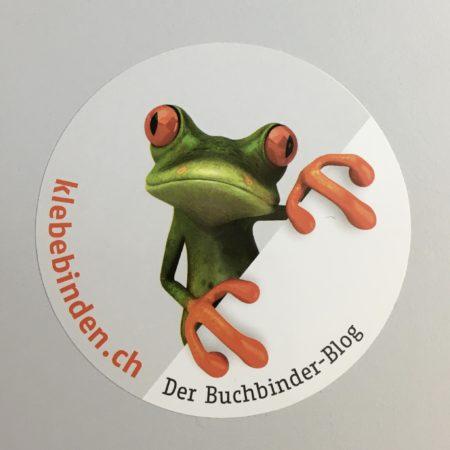 Logo des Blogs. Grafik: Buchbinderei An der Reuss AG