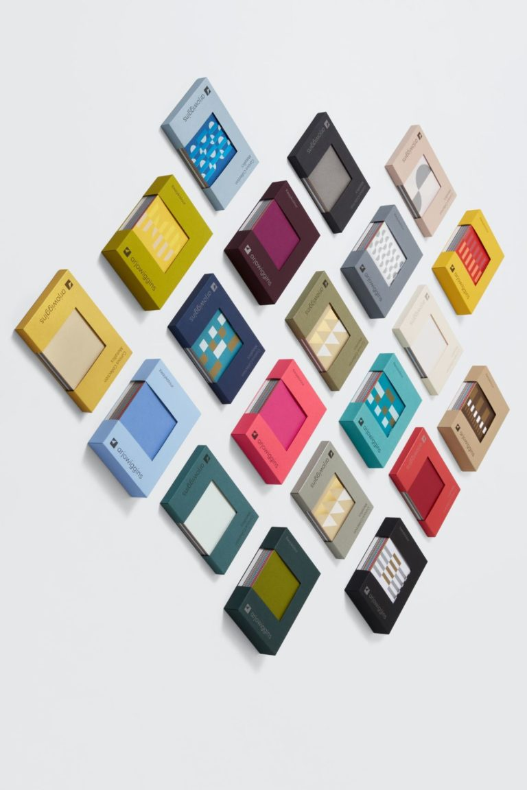 Entschlusserleichternde Farbenvergleichsboxen. Foto: Antalis