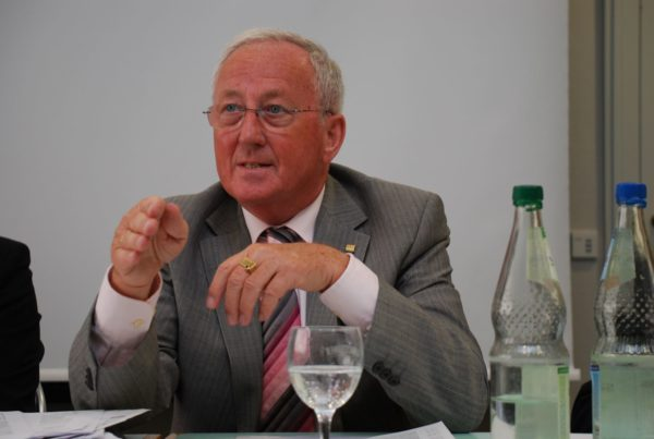 BDBI-Vorstandsmitglied Hans Dieter Jung. Foto: Frank Baier
