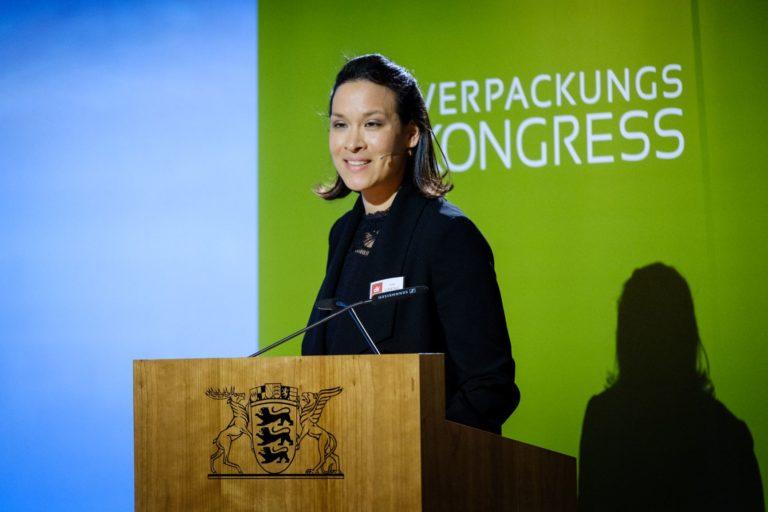 Kim Cheng, Geschäftsführerin des Deutschen Verpackungsinstituts e.V. Foto: DVI