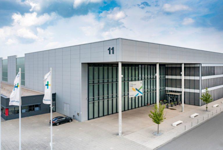 Das Print Media Center in Wiesloch-Walldorf in Halle 11. Foto: Heidelberg