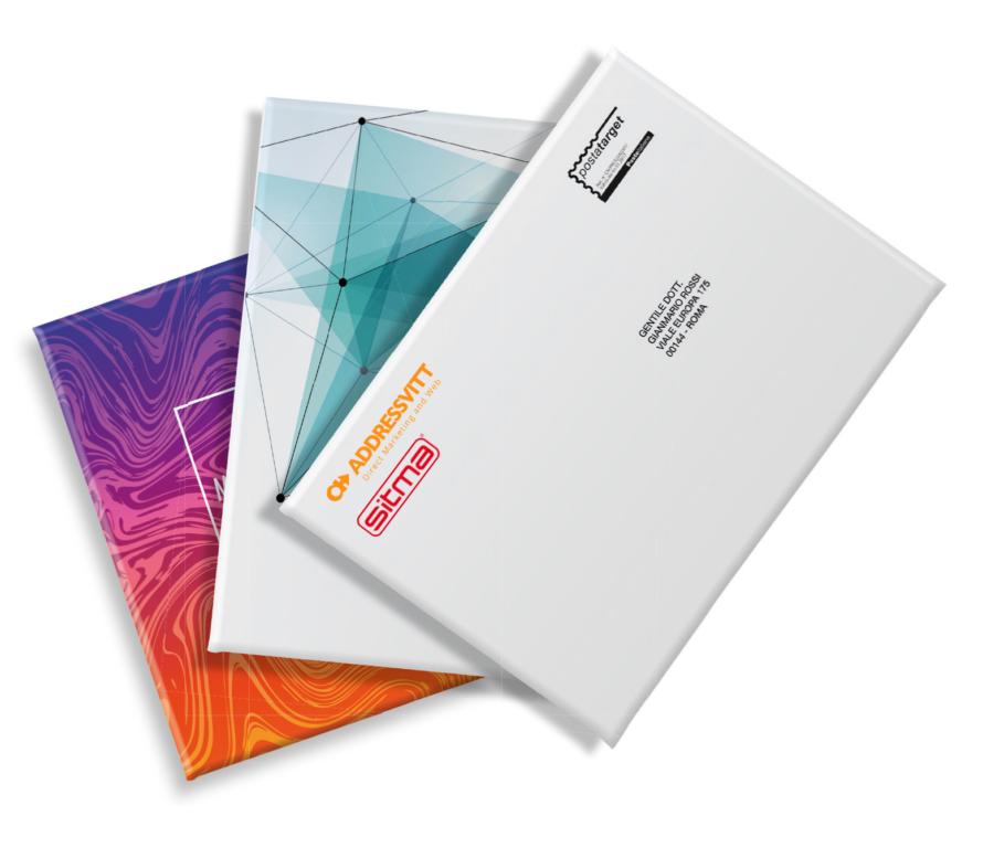 Werbesendungen im individuellen Corporate Design in Papier- statt in Folie-Verpackung. Foto: Sitma