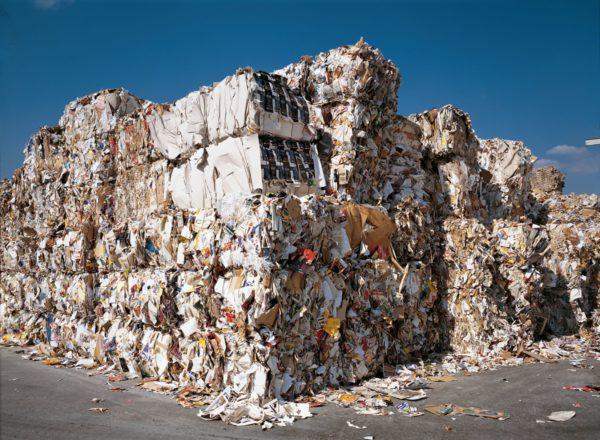 Aktuell liegt die Verwertungsquote grafischer Papiere bei 88 Prozent. Foto: Archiv