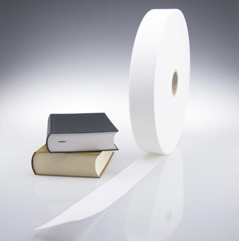 Gewebe und Vliesstoffe für Hardcover-Bücher. Foto: Dr. Günther Kast