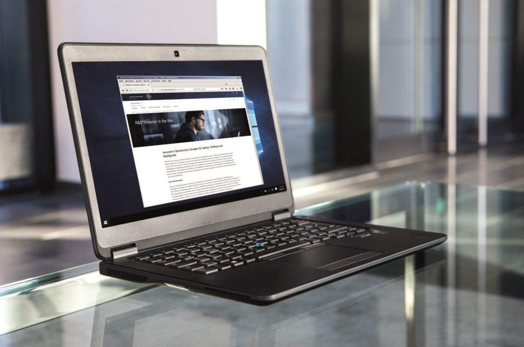 """Abgesicherte Hardware und Software hilft """"Cybercrime"""" abzuwehren. Foto: Rohde & Schwarz"""