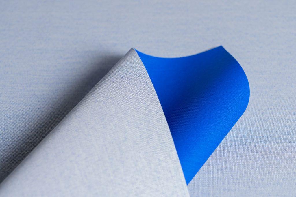 "Neues, langlebiges Bucheinband-Material aus Ozeanplastik namens ""Toile Ocean""."