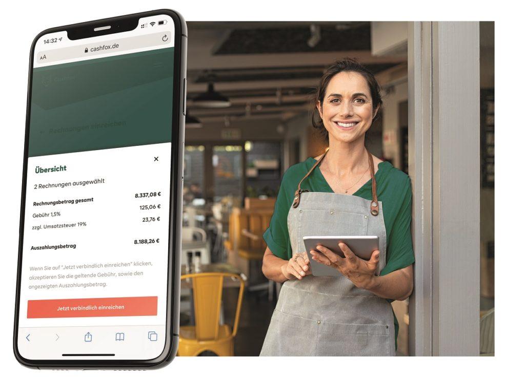 Cashfox bietet auch Lösungen für kleine und mittelständische Firmen. Foto: Cashfox