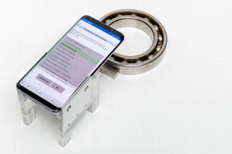 """Neues 2D-Messsystem """"Micro Control"""". Foto: PITSID"""