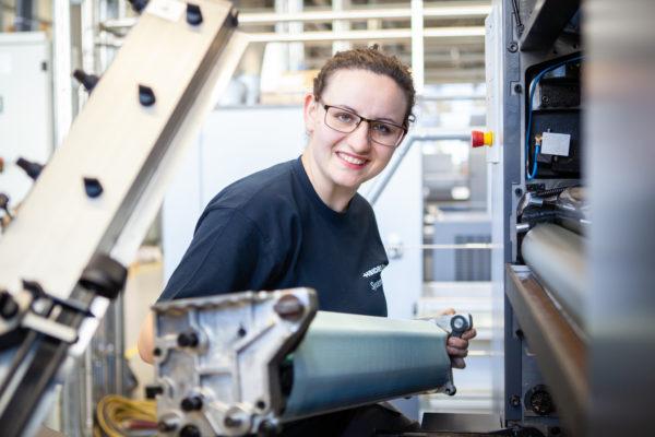 Technische Berufe sind auch für junge Frauen interessant. Foto: Heidelberg