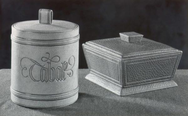 Beispiele für die Fertigung von Schatullen und Kassetten. Foto: Archiv