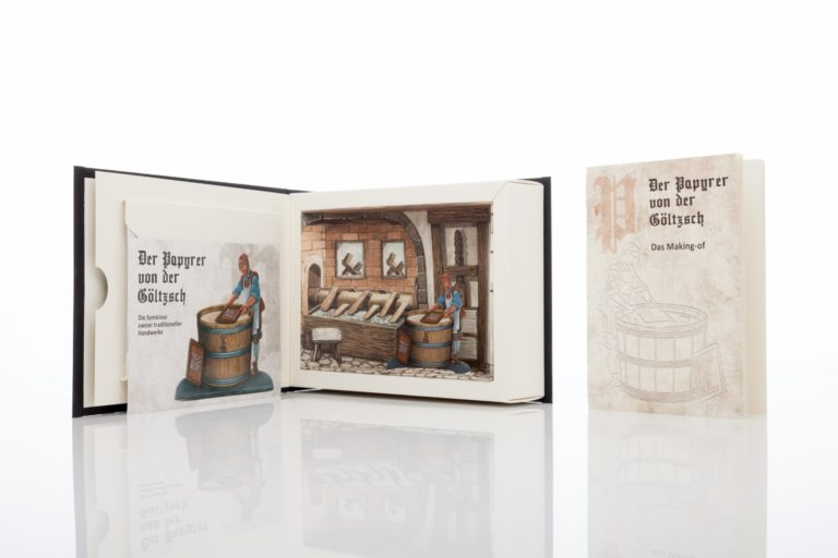 """Allianz mehrerer Partner: Aktuelles Projekt """"Papyrer von der Göltzsch"""". Foto: Koehler Paper"""